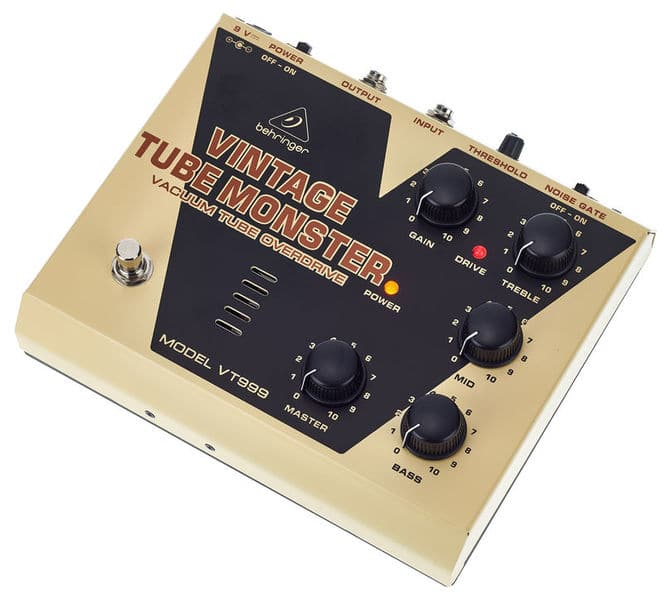 Behringer Vintage Tube Monster VT999 review
