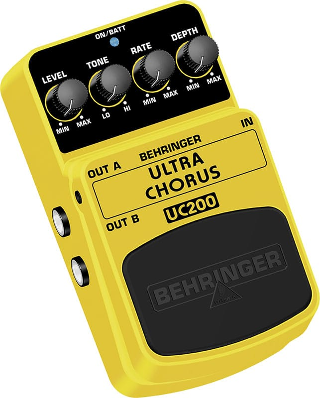 Behringer Stereo Chorus UC200 review