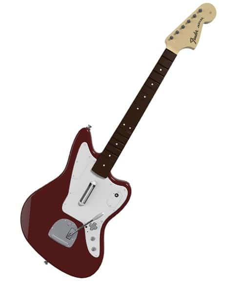 Rock Band Fender Jaguar Guitar Controller for PS4 or XBOX one review