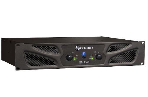 Crown XLi1500 Two-channel review