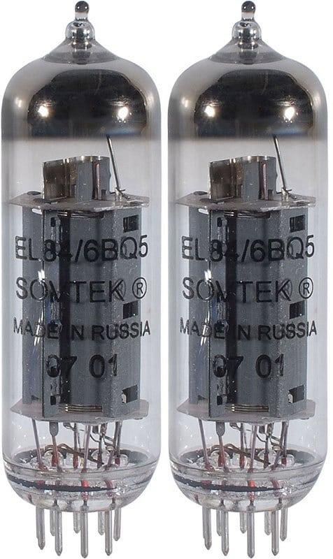 Pair of Sovtek EL84