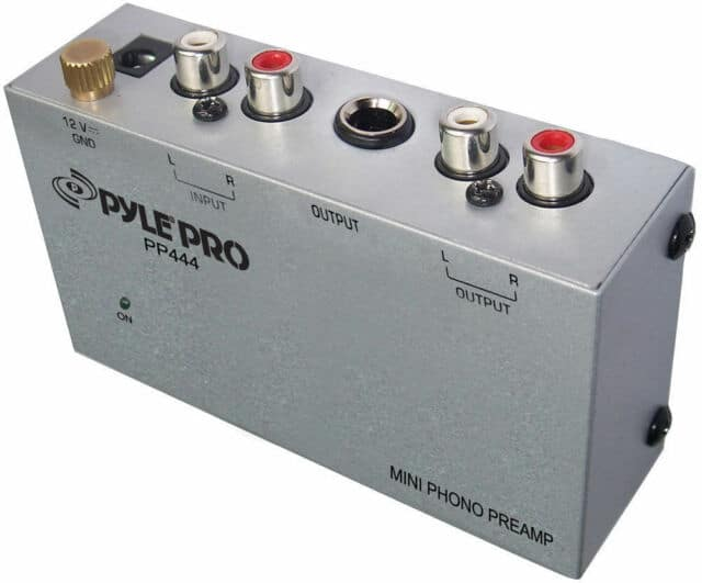 Pyle Phono Turntable Preamp review
